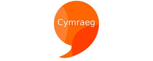 Cymraeg - logo - We are able to serve our customers in Welsh